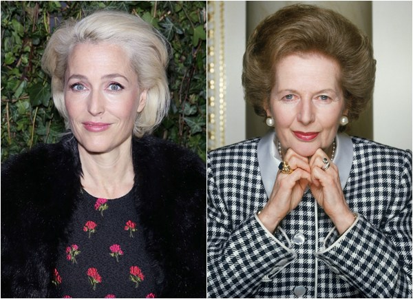 The Crown: Gillian Anderson será Margaret Thatcher na 4ª temporada