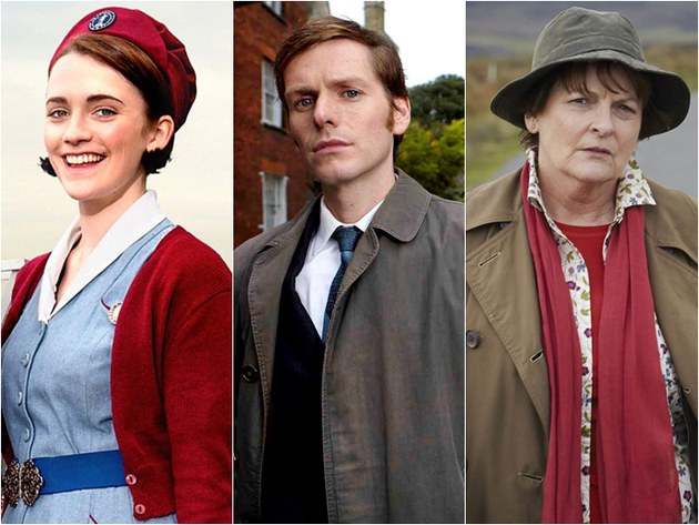Call the Midwife, Endeavour e Vera: renovadas para novas temporadas