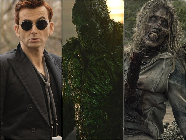 Séries na Semana: Good Omens, Swamp Thing, Fear The Walking Dead entre as novidades