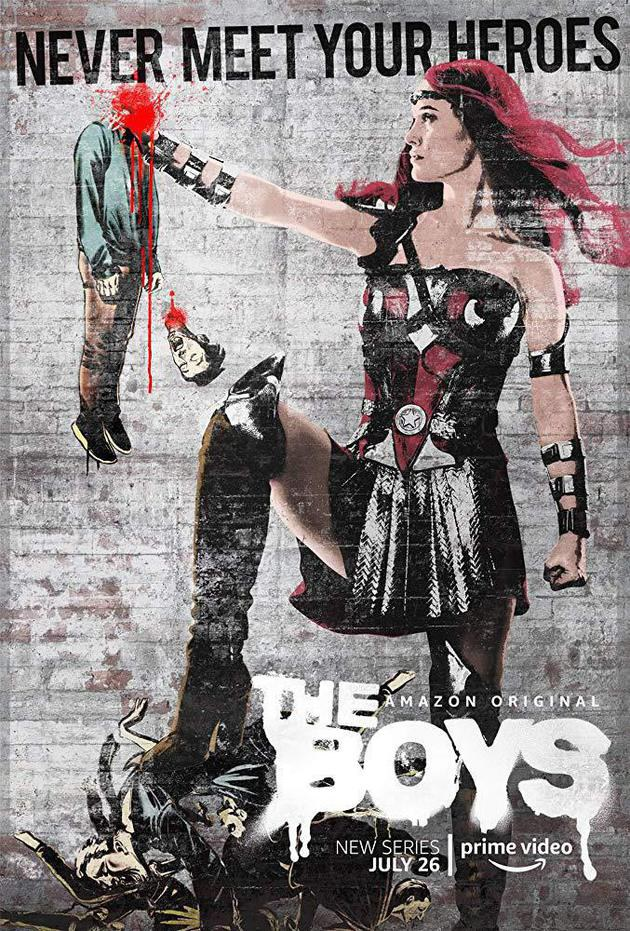 The Boys: prévia apresenta super-heróis ególatras da nova série do Amazon Prime Video