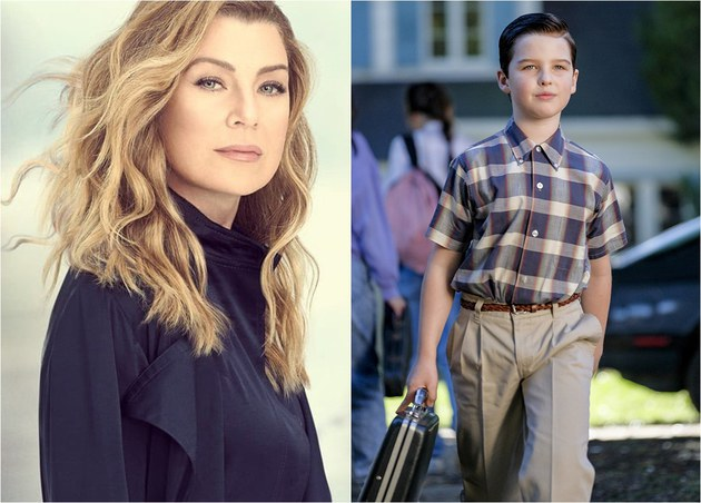 Audiência de quinta: Grey's Anatomy estável; Young Sheldon sofre sem Big Bang